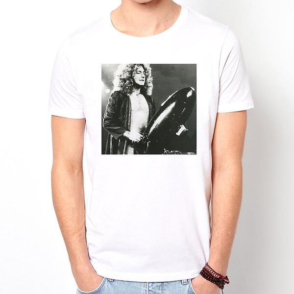 Led Zeppelin-Robert Plant 短袖T恤-3色 齊柏林飛船樂團搖滾金屬龐克美國進口ROCK