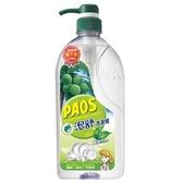 泡舒綠茶洗潔精 1000g 壓瓶裝【愛買】