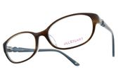 JILL STUART 光學眼鏡 JS60018 C02 (棕-藍) 歐系甜美小框款 眼鏡框 # 金橘眼鏡