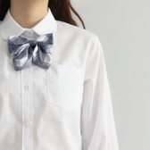 jk制服白襯衫女學生學院風日系寬鬆白寸衫夏基礎款長袖短袖襯衣 浪漫西街