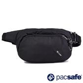 【Pacsafe】Vibe 100 輕便防盜腰包 4L『亮黑色』60141-130 防盜 旅遊 出國 度假