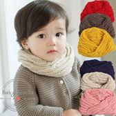 圍巾 韓版 寶寶 冬季 兒童 毛線 針織 圍脖 BW