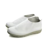 HUMAN PEACE 懶人鞋 休閒鞋 皮質 白色 女鞋 BB133 no589
