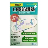 拋棄式 口罩防護墊 30片/盒 台灣製+愛康介護+