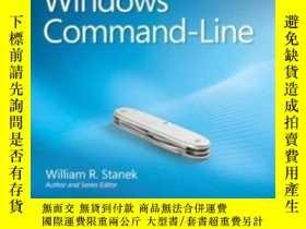 二手書博民逛書店Windows罕見Command-line Administrator s Pocket Consultant,