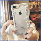 蘋果 iPhone12 iPhone11 12mini 12Pro Max SE2 XS IX XR i8+ i7 i6 蝴蝶飛舞邊鑽殼 手機殼 水鑽殼 訂製