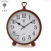 北極星歐式鐘錶臺鐘創意座鐘家用鐘擺件客廳靜音時鐘鬧鐘桌面裝飾 YXS『小宅妮時尚』
