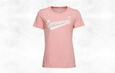 CONVERSE-CENTER FRONT LOGO TEE 女款粉色短袖上衣-NO.10018268-A02