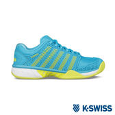 K-Swiss Hypercout Express輕量網球鞋-女-藍/綠