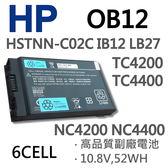 HP OB12 6芯 日系電芯 電池 81373-001 383510-001 395792-001 4200 HSTNN-LB27 395792-162 TC4400