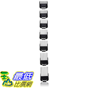 [美國直購] Andis 理髮工具 01380 Improved Master Comb Set, Black