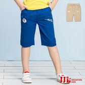 JJLKIDS 男童 經典不敗口袋純棉休閒六分褲(2色)