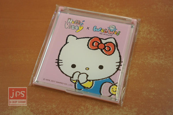 Hello Kitty 立鏡 塗鴉粉 WEI WEI