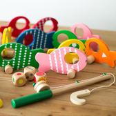 2-3-6歲半兒童男寶寶玩具親子木質小孩釣魚游戲套大號裝益智玩具 igo