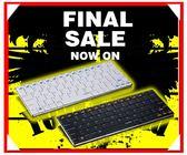 新竹※超人3C※ 雷柏 Rapoo E6300 白/黑 超薄無線鍵盤 藍芽 鍵盤 Bluetooth 3.0 支援 iPad