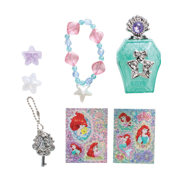 迪士尼公主 小美人魚愛麗兒香水寶盒飾品組