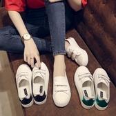 小白鞋 女夏季新款百搭透氣魔術貼平底女鞋子學生淺口單鞋 - 古梵希
