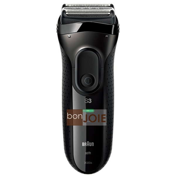 ::bonJOIE:: 日本進口 境內版 德國百靈 BRAUN 3020s-B 三刀頭電動刮鬍刀 (全新盒裝) 3系列 水洗式 3020s 3020