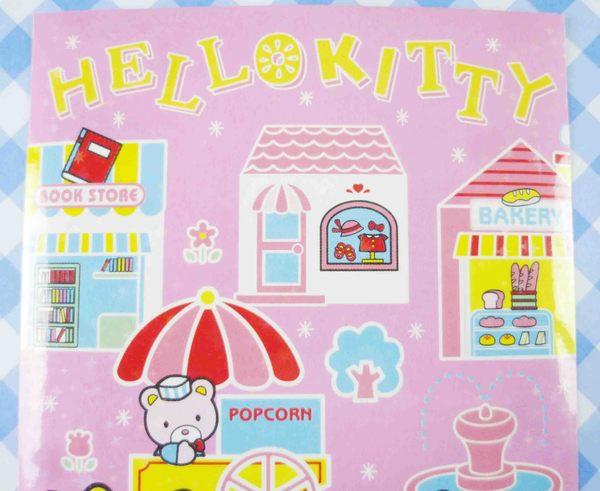 【震撼精品百貨】Hello Kitty 凱蒂貓~KITTY貼紙-腳踏車