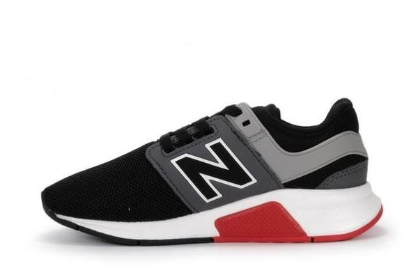 New Balance 男幼童4-7歲黑色運動鞋-NO.PH247FB