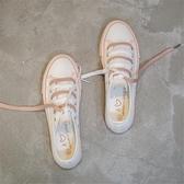 帆布鞋百搭小臟橘帆布小白鞋子女2020潮鞋春款學生韓版春秋洋氣港風夏款春季新品