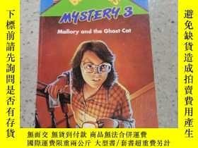 二手書博民逛書店babysitter罕見mystery:mallory and the ghost cat保姆之謎:馬洛裏和幽靈貓