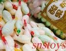 sns 古早味 懷舊零食 酸果粉 果汁粉 (手榴彈 造型) (100個裝)