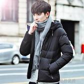 棉衣男士韓版潮流情侶潮牌冬季棉服加厚保暖羽絨棉襖外套【新春快樂】