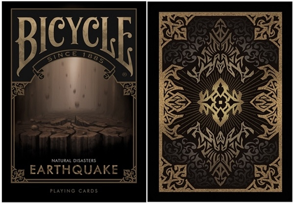 【USPCC 撲克】BICYCLE ND earthquake PLAYING CARDS natural disast