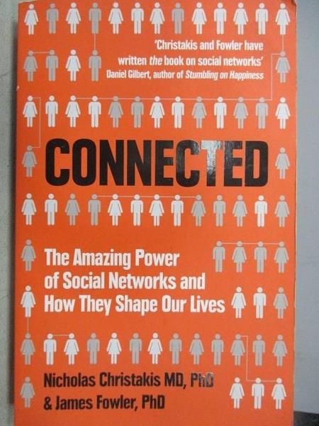 【書寶二手書T2/原文小說_CSU】CONNECTED_Nicholas Christakis&James Fowler