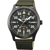 ORIENT 東方 SP 飛行運動石英錶-綠x黑框/42mm FUNG2004F
