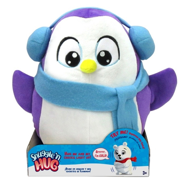 AOT12440 0 SNUGGLE'N HUG PLUSH - PENGUIN 擁抱我吧!賣萌企鵝