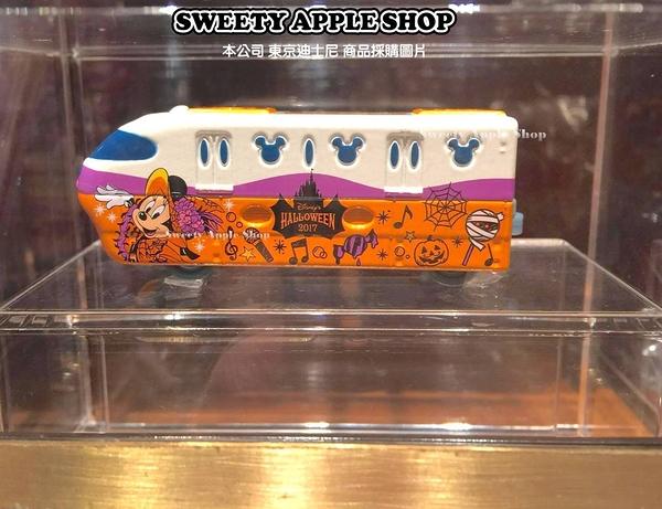(現貨&樂園實拍)東京迪士尼 萬聖節 米妮  トミカ 單軌模型列車 TOMICA 模型小車