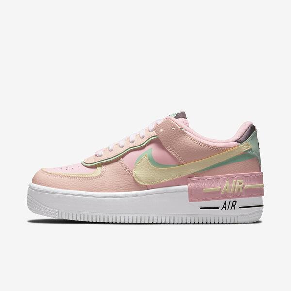 Nike Wmns Af1 Shadow [CU8591-601] 女鞋 運動 休閒 舒適 皮革 簡約 厚底 穿搭 粉紅