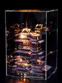 3d立體拼圖金屬拼裝模型 超難超大型建筑模型成人高難度diy組裝【販衣小築】