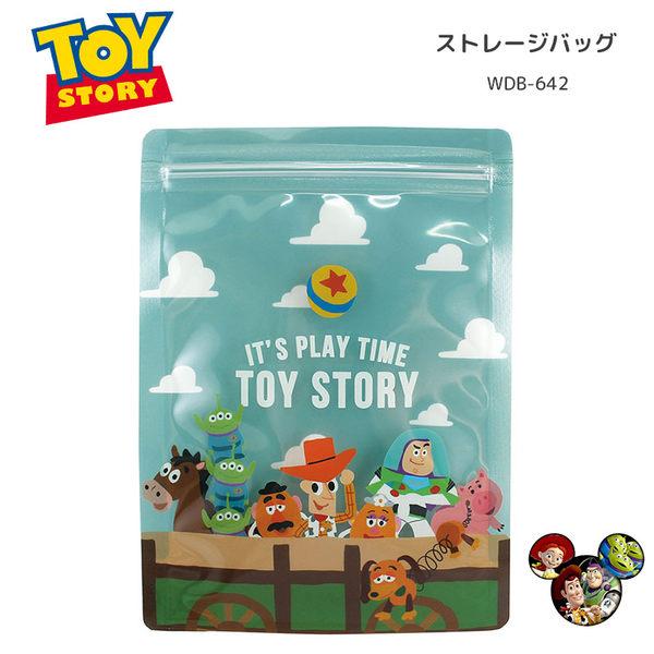 日本製迪士尼玩具總動員餅乾袋夾鏈4入602541通販屋