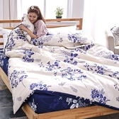 #L-UB016#舒柔超細纖維5x6.2尺標準雙人床包+枕套三件組-台灣製(不含被套)