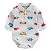 寶寶哈衣三角爬服嬰兒長袖春秋兒童連體衣服 AD643『寶貝兒童裝』