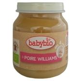 法國倍優 Babybio 有機洋梨鮮果泥-130g