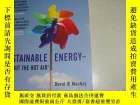 二手書博民逛書店SUSTAINABLE罕見ENERGY-WITHOUT THE