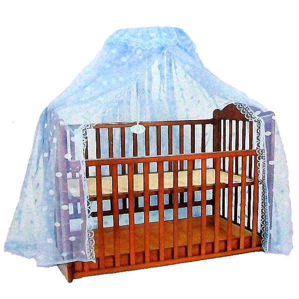 全罩式嬰兒床蚊帳 60X120cm 中大床適用 /新式嬰兒床大圓頂 蚊帳 /圓B蚊帳組