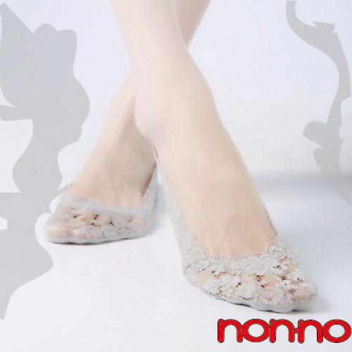 non-no儂儂褲襪(6入) 深口蕾絲襪套-25040