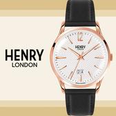 Henry London英國前衛品牌RICHMOND雅痞紳士簡約腕錶HL41-JS-0038公司貨