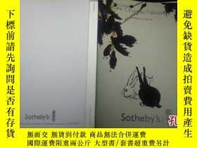 二手書博民逛書店sotheby s罕見fine chinese painting