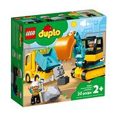 10931【LEGO 樂高積木】Duplo 得寶幼兒系列 -卡車 & 挖土機 (20pcs)