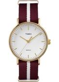 TIMEX 天美時 (TXT2P98100) 帆布 手錶/37mm