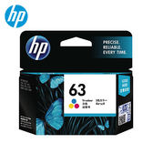 HP F6U61AA(NO.63) 彩色墨水匣