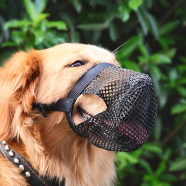 狗狗嘴套防咬舔亂吃口罩小型大型犬寵物嘴罩金毛嘴巴口套狗套用品 黛尼時尚精品