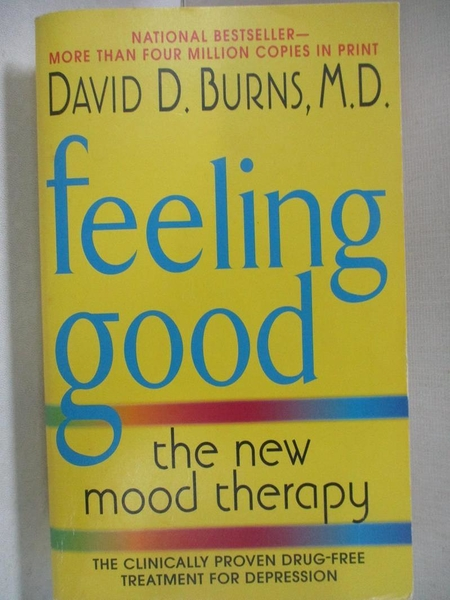 【書寶二手書T1/大學理工醫_A43】Feeling Good: The New Mood Therapy_Burns