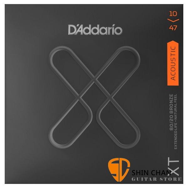 美國 D'Addario XTABR1047 (1047) 民謠吉他弦 【XTABR-1047/木吉他弦專賣店/DAddario】
